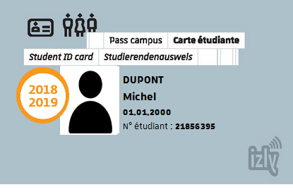 carte etudiant obtention